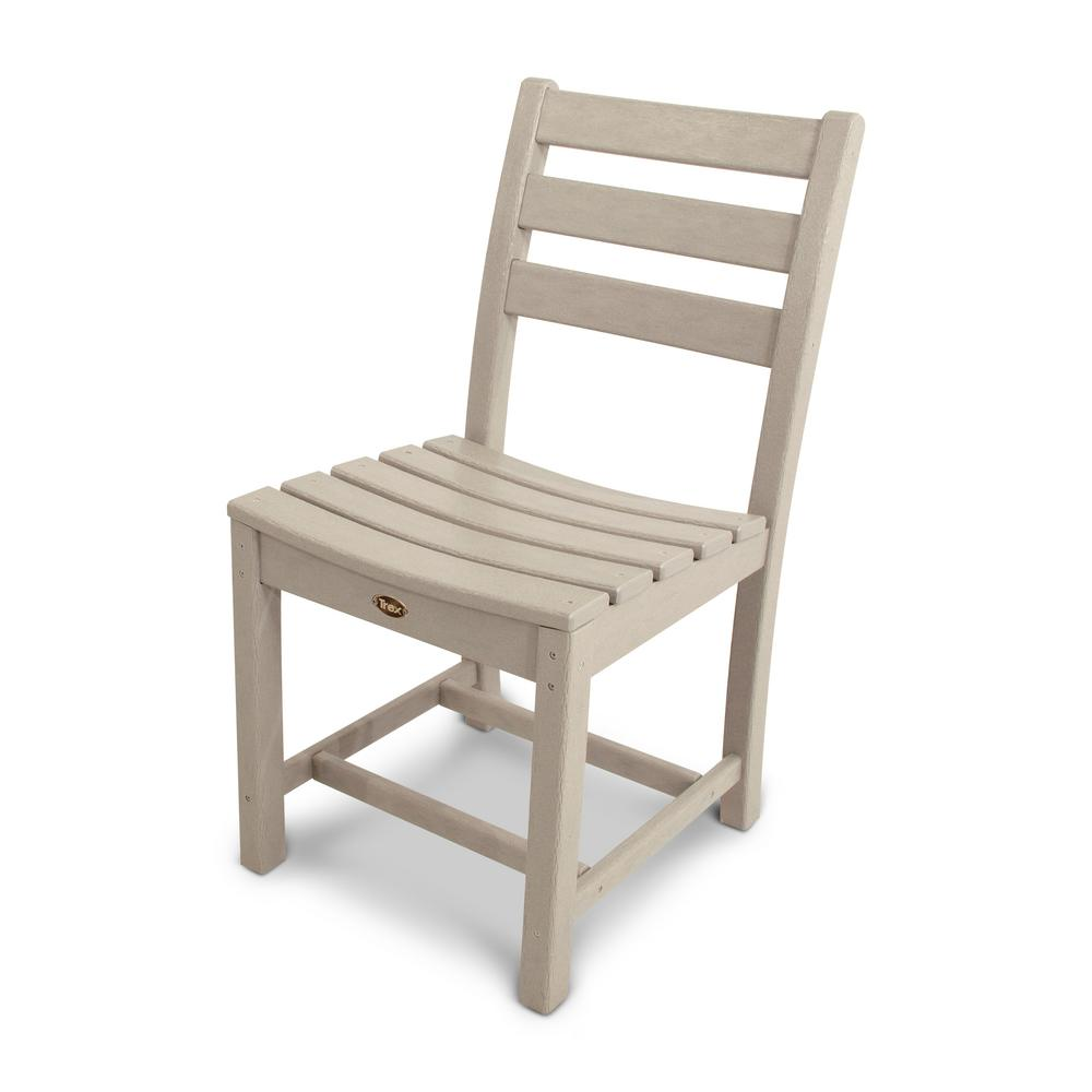 Trex Outdoor Furniture Monterey Bay Sand Castle Patio Dining Side Chair