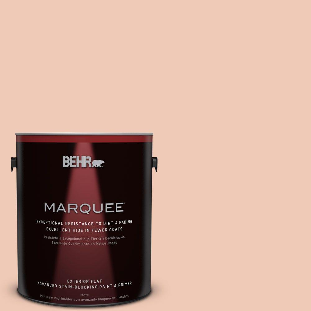 BEHR MARQUEE 1-gal. #M200-2 Fruit Salad Flat Exterior Paint