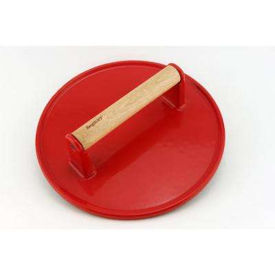 Cast Iron Red Steak Press Specialty Tool