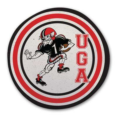 University of Georgia Multicolor Melamine Dinner Plate (Set of 6)