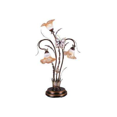 38 in. Bronze Table Lamp