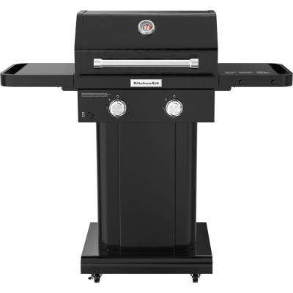 2-Burner Propane Gas Grill in Black