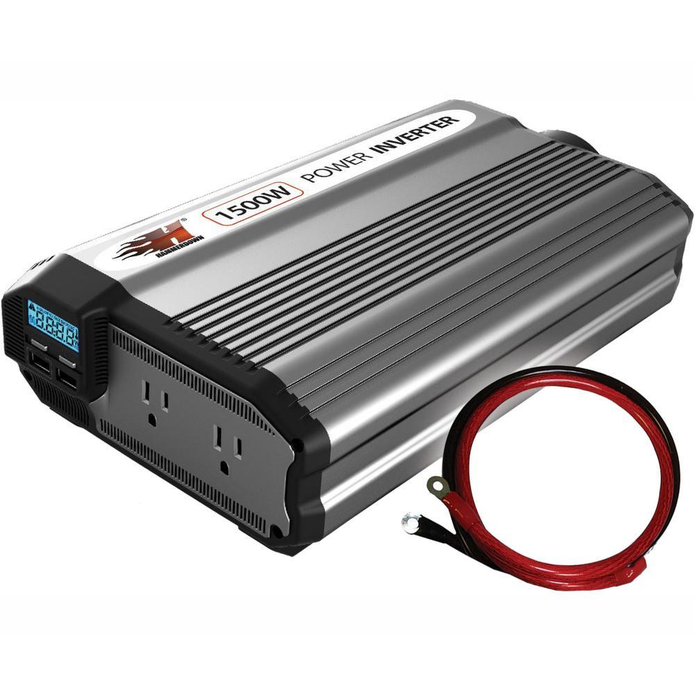 1500-Watt 12-Volt Power Inverter