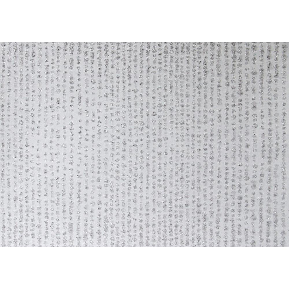 Myth Grey Beaded Texture Wallpaper Sample