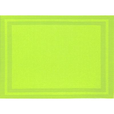 Lime Basket Weave Placemat (Set of 8)