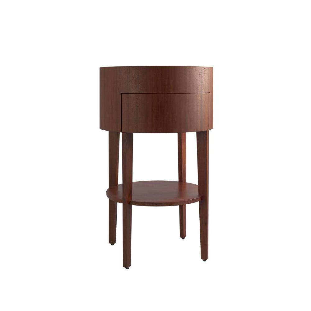 Petite Vanity Cabinet Only Sapele