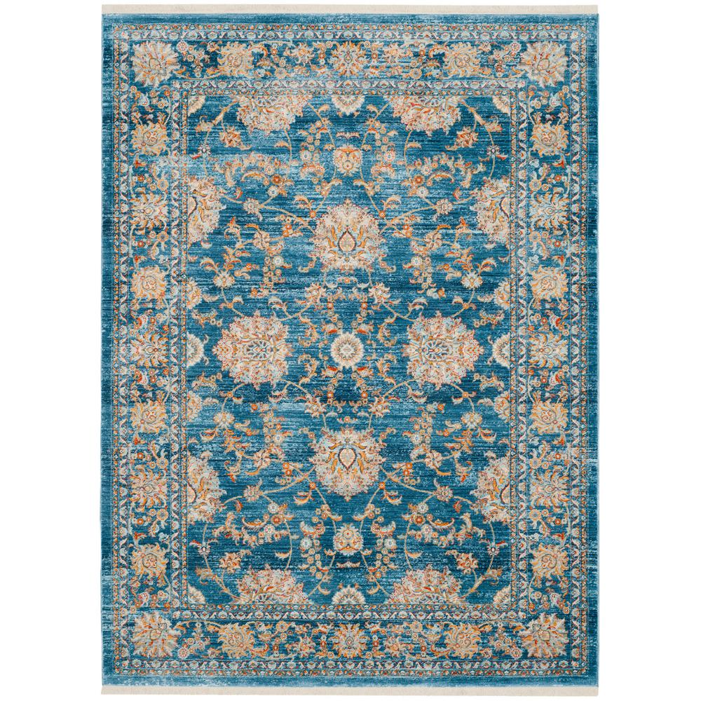 Safavieh Vintage Turquoise And Multi Colored Area Rug: Safavieh Vintage Persian Turquoise/Multi 6 Ft. X 9 Ft