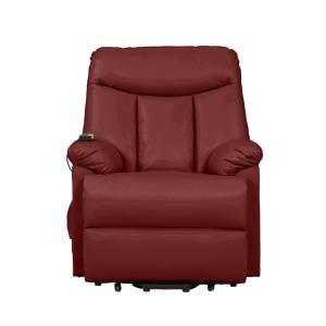 Enjoyable Prolounger Burgundy Red Wall Hugger Power Lift Reclining Ocoug Best Dining Table And Chair Ideas Images Ocougorg