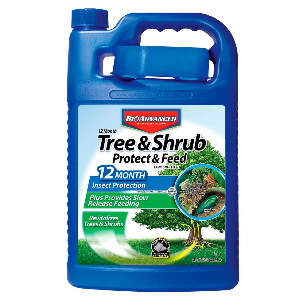 BioAdvanced 1 Gal. Concentrate Tree/Shrub Protect and Feed