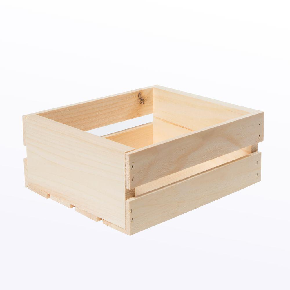 Crates & Pallet Crates and Pallet 11.75 in. x 9.5 in. x 4.75 in ...