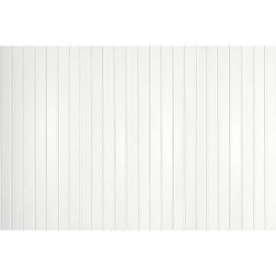 10.67 sq. ft. 3/16 in. x 48 in. x 32 in. EZ Paintable Bead Wainscot Hardboard Panel