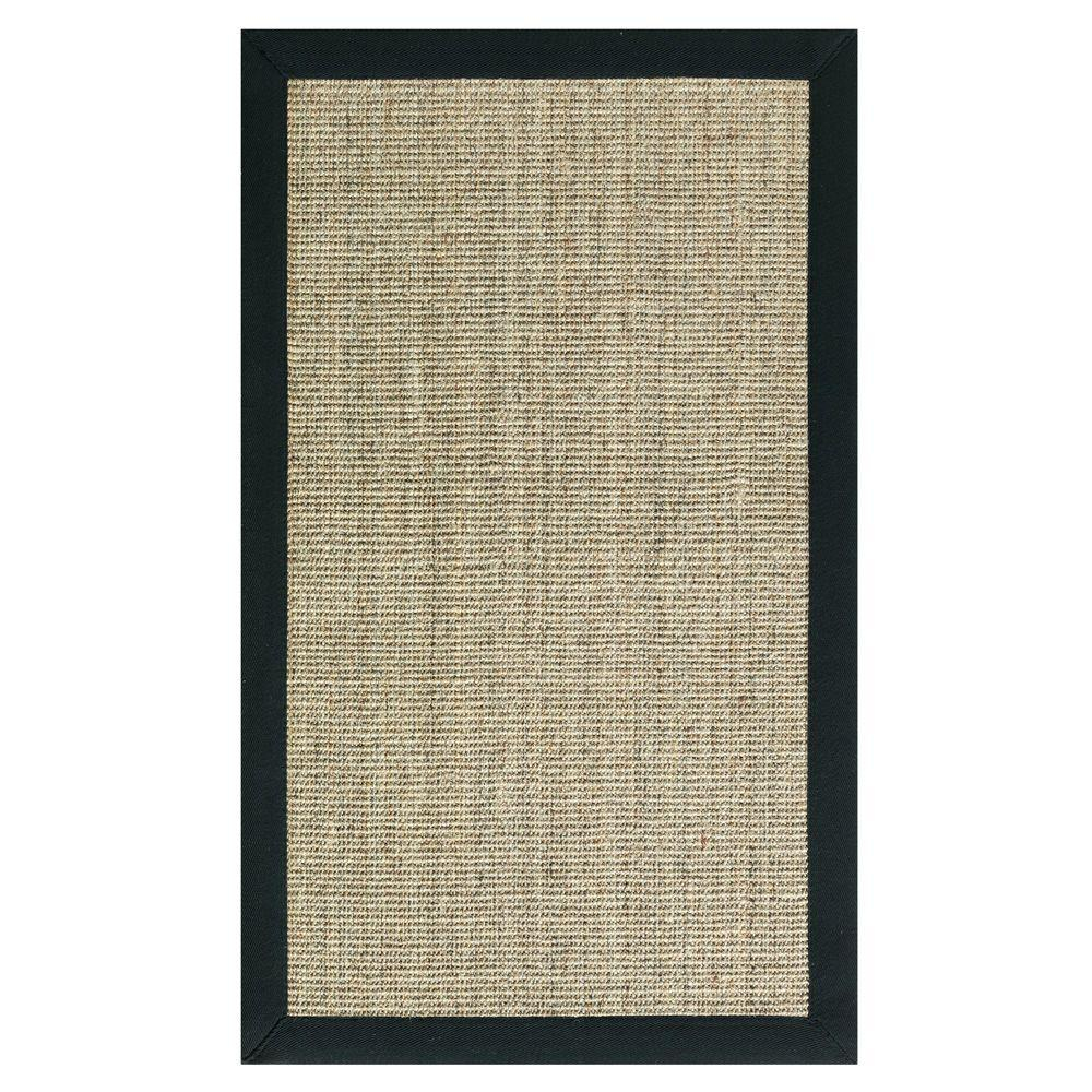 Home Decorators Collection Freeport Coast and Black 7 ft. x 9 ft. Area Rug