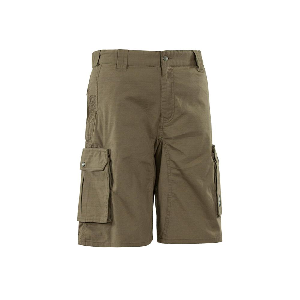 85228ffc Berne Men's 48 in. Putty Cotton, Polyester and Spandex Echo Zero 6-Cargo