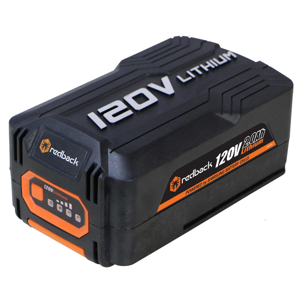 Lithium Ion Battery >> Redback 120 Volt 2 0ah Lithium Ion Battery