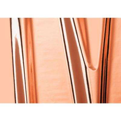 17 in. x 59 in. Glossy Rose Gold Self-adhesive Vinyl Film for Furniture and Door Decoration