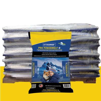 50 lb. Pro PowerMelt + Infused w/Calcium and Potassium Chloride, Corrosion Inhibitor, Anti-Caking & Dye Pallet (49-Bags)