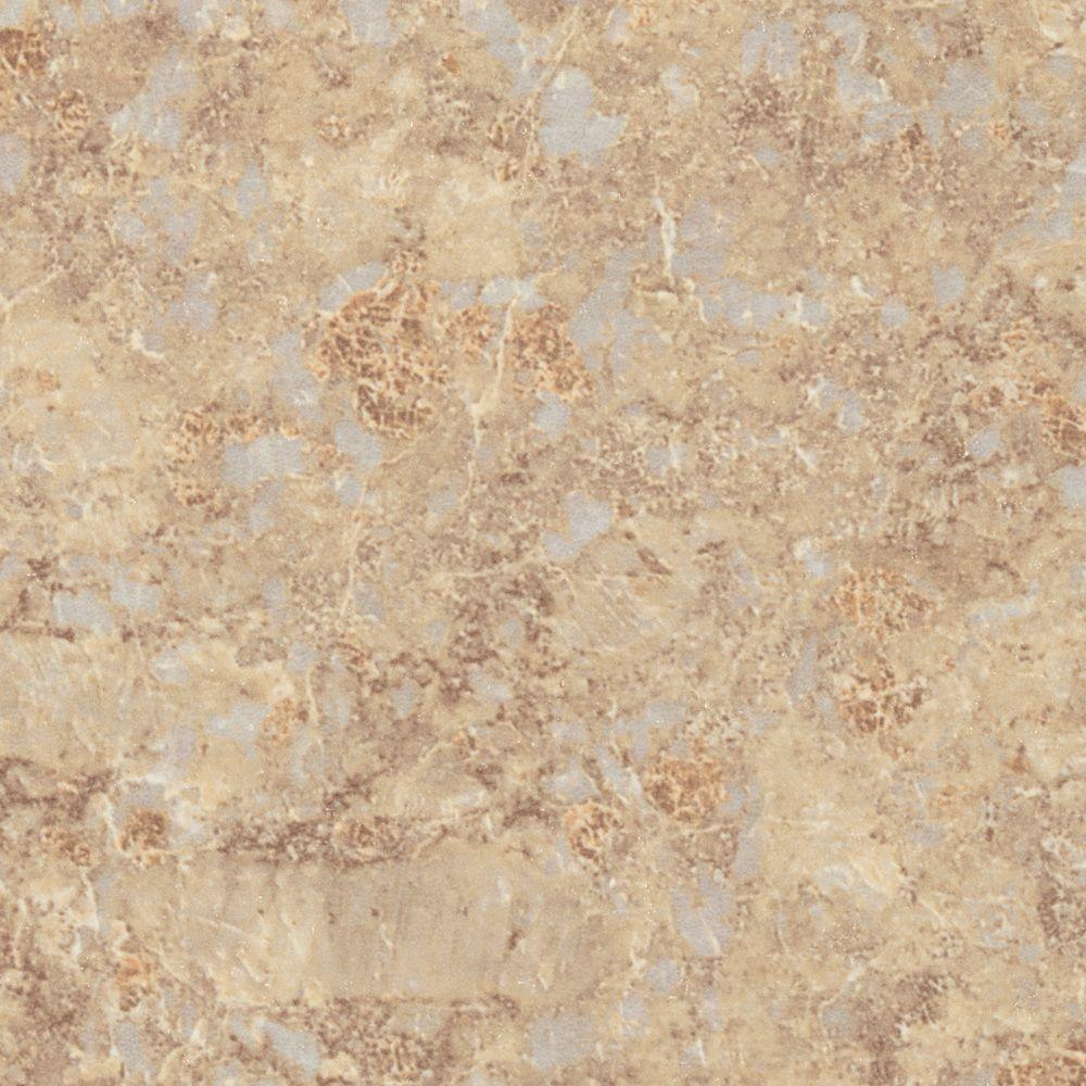 Wilsonart 3 in. x 5 in. Laminate Sample in Jeweled Ivory with Quarry