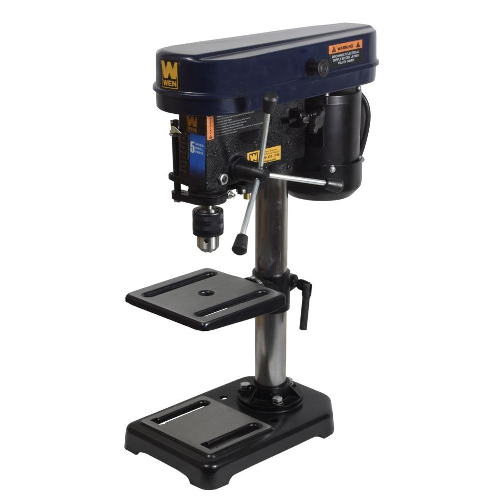 WEN 8 in. Drill Press with Laser Guide-DISCONTINUED
