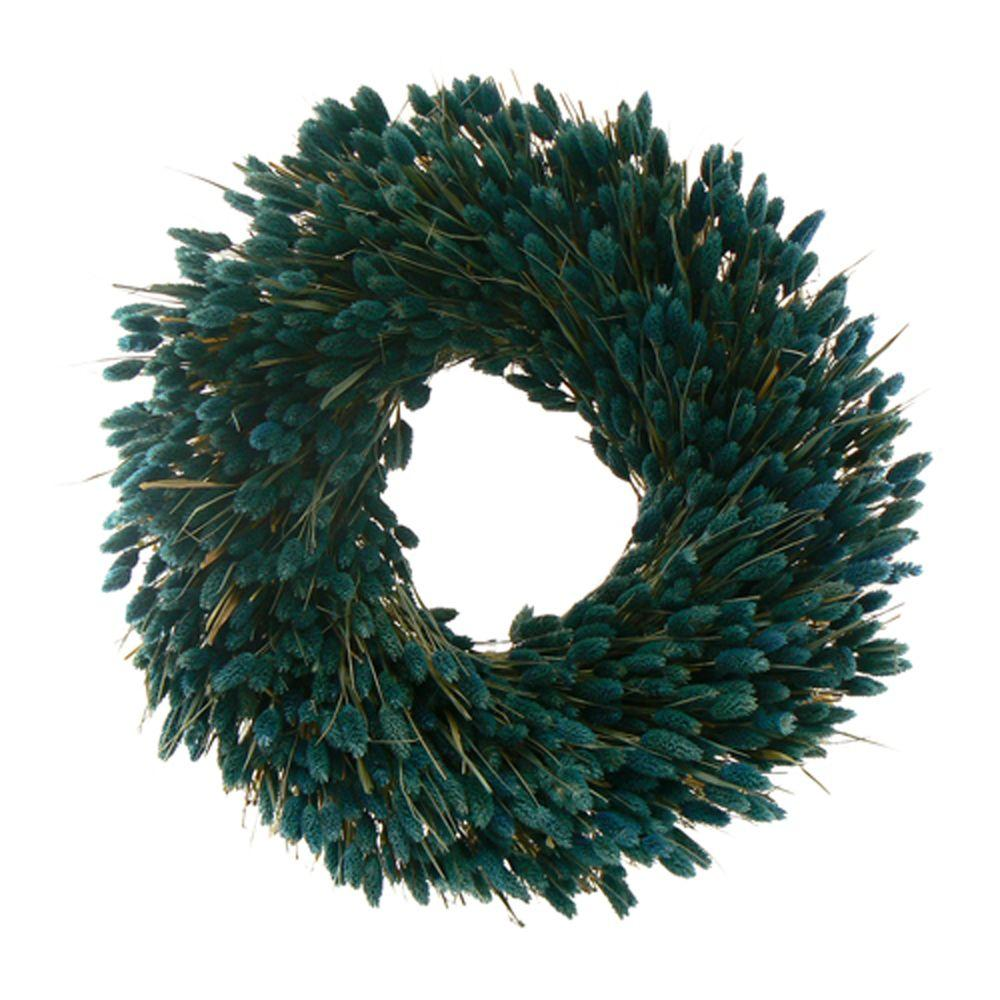 The Christmas Tree Company Ocean Dreamin 22 in. Dried Floral Wreath-DISCONTINUED