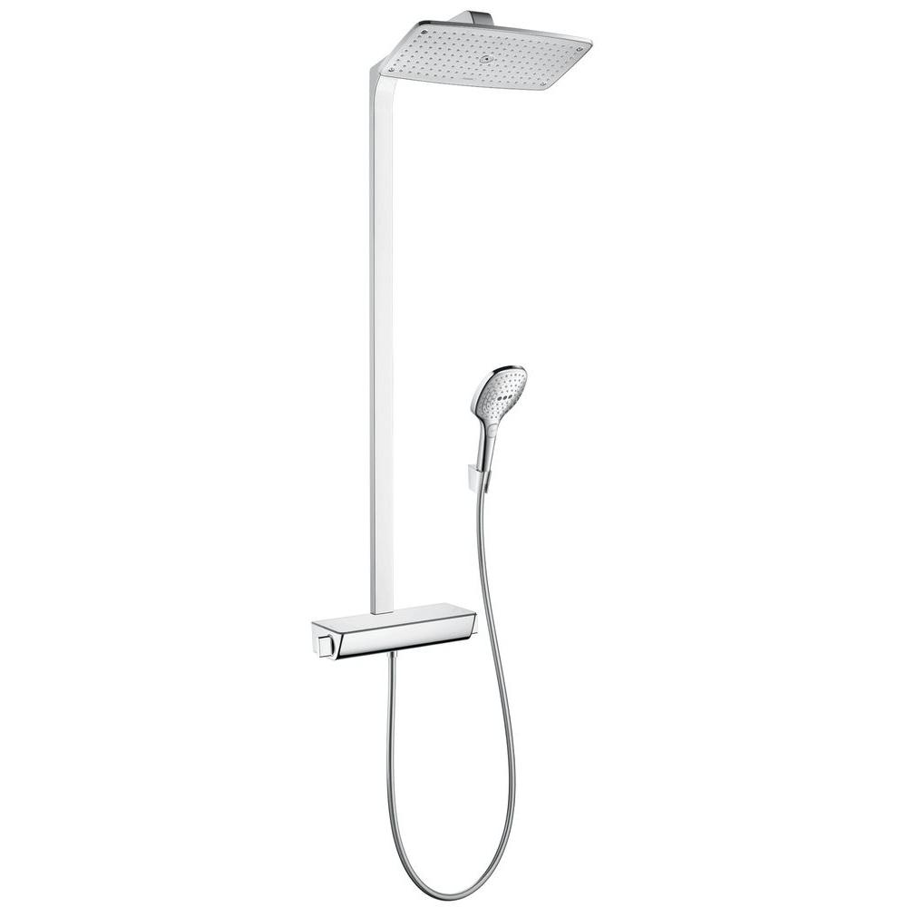 Hansgrohe Raindance Select 4-Spray Handshower and Showerhead Combo ...