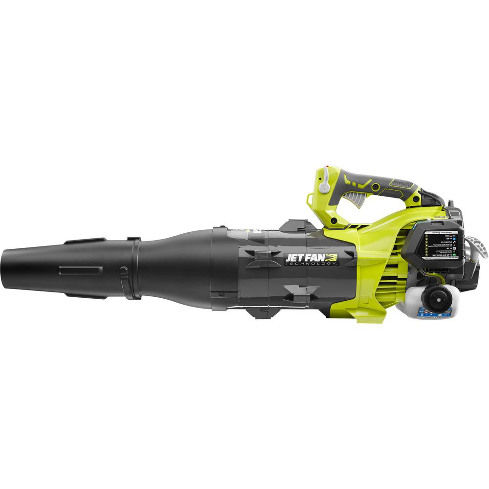 Ryobi 160 Mph 520 Cfm 25cc Gas Jet Fan Blower Ry25axb The Home Depot Craftsman Electric Leaf Wiring Diagram