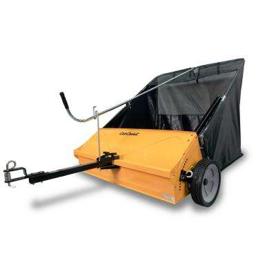 44 in. Tow-Behind Lawn Sweeper