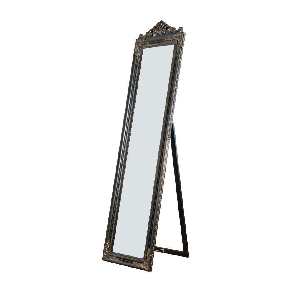 Oversized Copper Wood Modern Mirror (71 in. H X 1.9 in. W)