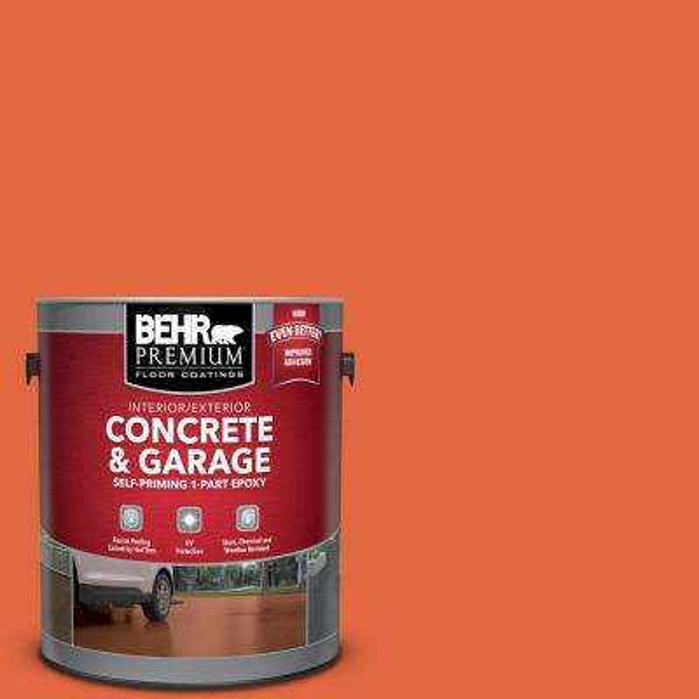 1 gal. #P190-6 Emergency Zone Self-Priming 1-Part Epoxy Interior/Exterior Concrete and Garage Floor Paint
