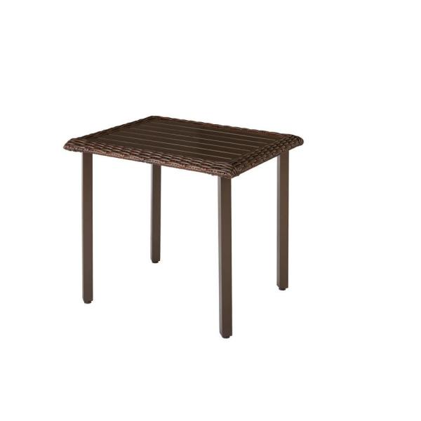 Mill Valley 30 in. x 24.5 in. Rectangular Patio Bistro Table