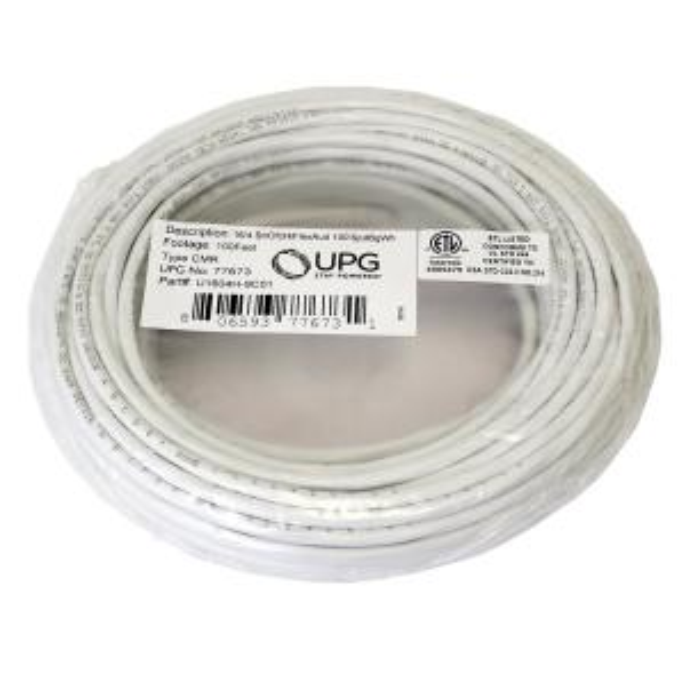 Magnificent Ge 100 Ft 18 Gauge Speaker Wire Stranded 76497 The Home Depot Wiring Digital Resources Jonipongeslowmaporg
