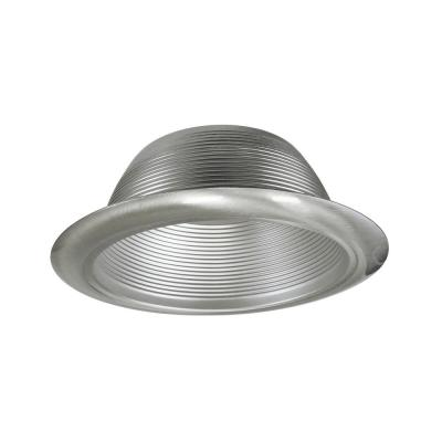NICOR 6 in. Nickel Recessed Baffle Trim