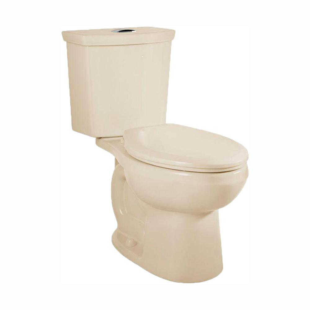 American Standard H2Option Tall Height 2-piece 0.92/1.28 GPF Dual Flush Elongated Toilet in Bone