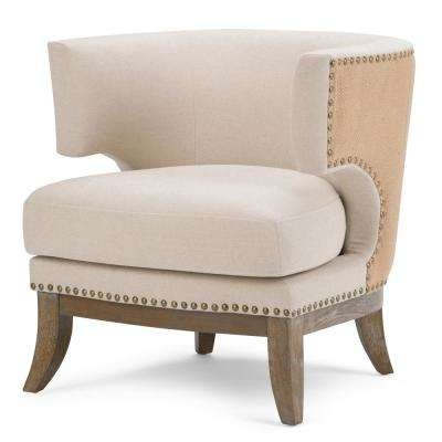 Hoffman Natural Fabric Side Chair