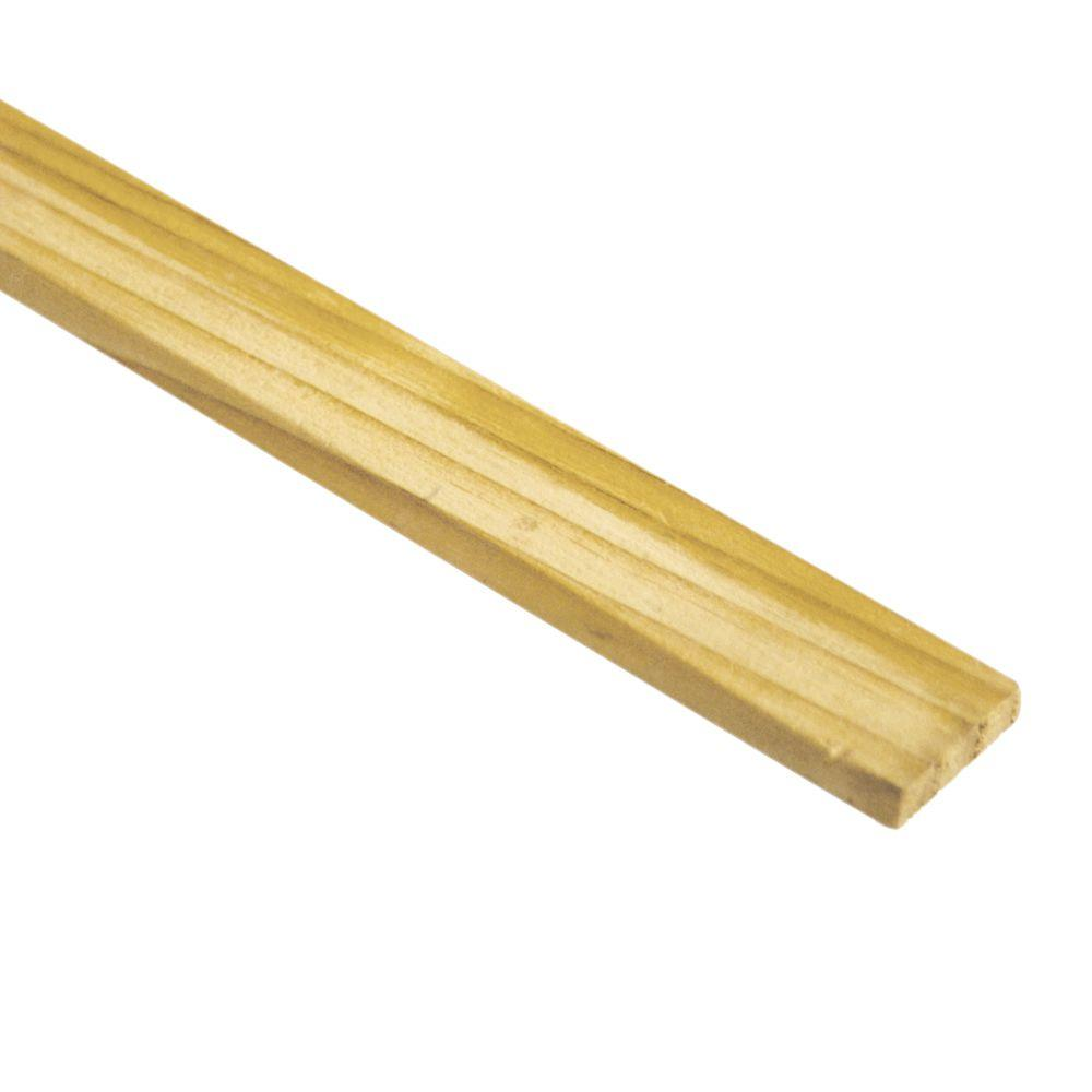 5/16 in. x 1-1/2 in. x 4 ft. Wood Lath (50-Pack)