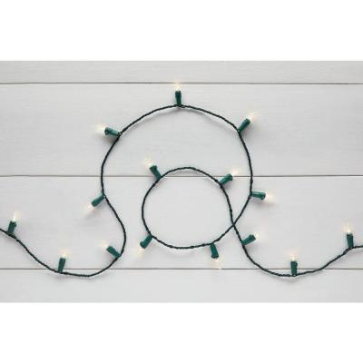 35 ft. 100-Light B/O Mini Warm White LED Lights