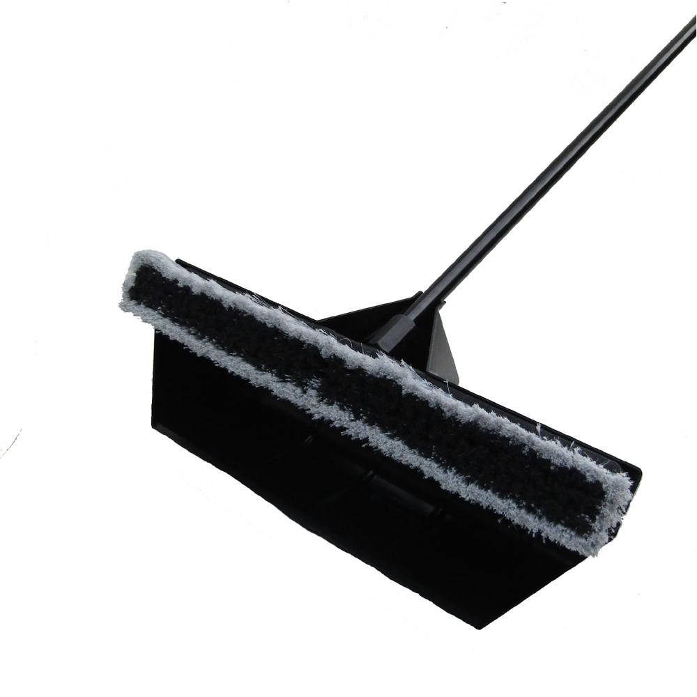 24 in. 2 in 1 Shovel Dust Pan and Multi-Surface Push