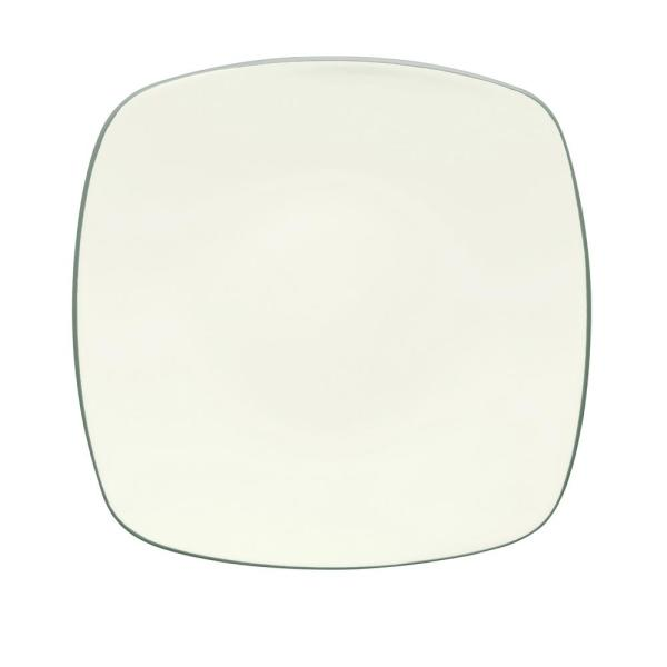 Noritake Colorwave 10.75 in. Green Square Dinner Plate 8485-586