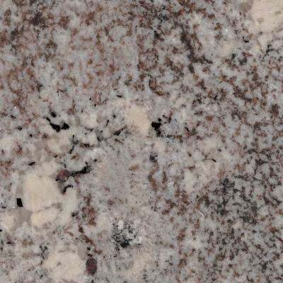 3 in. x 3 in. Granite Countertop Sample in Mystic Spring