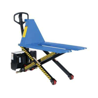 3000 lb. Capacity 21 in. Fork Width DC Powered Tote Lifter