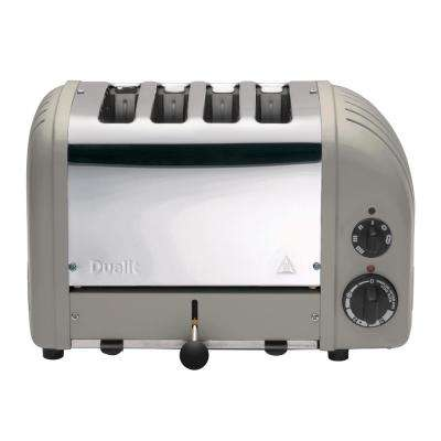 New Gen 4-Slice Shadow Wide Slot Toaster with Crumb Tray