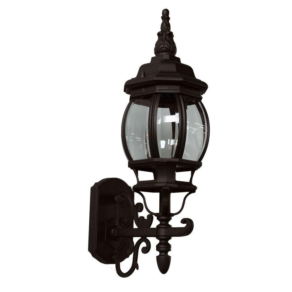 ARTCRAFT Sergej 1-Light Rust Outdoor Wall Lantern