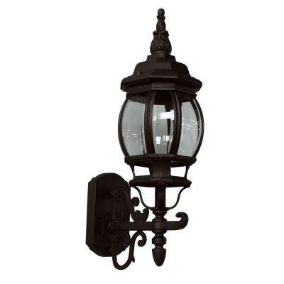 Sergej 1-Light Rust Outdoor Wall Lantern