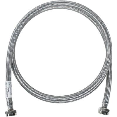 8 ft. Braided Stainless Steel Washing Machine Hose
