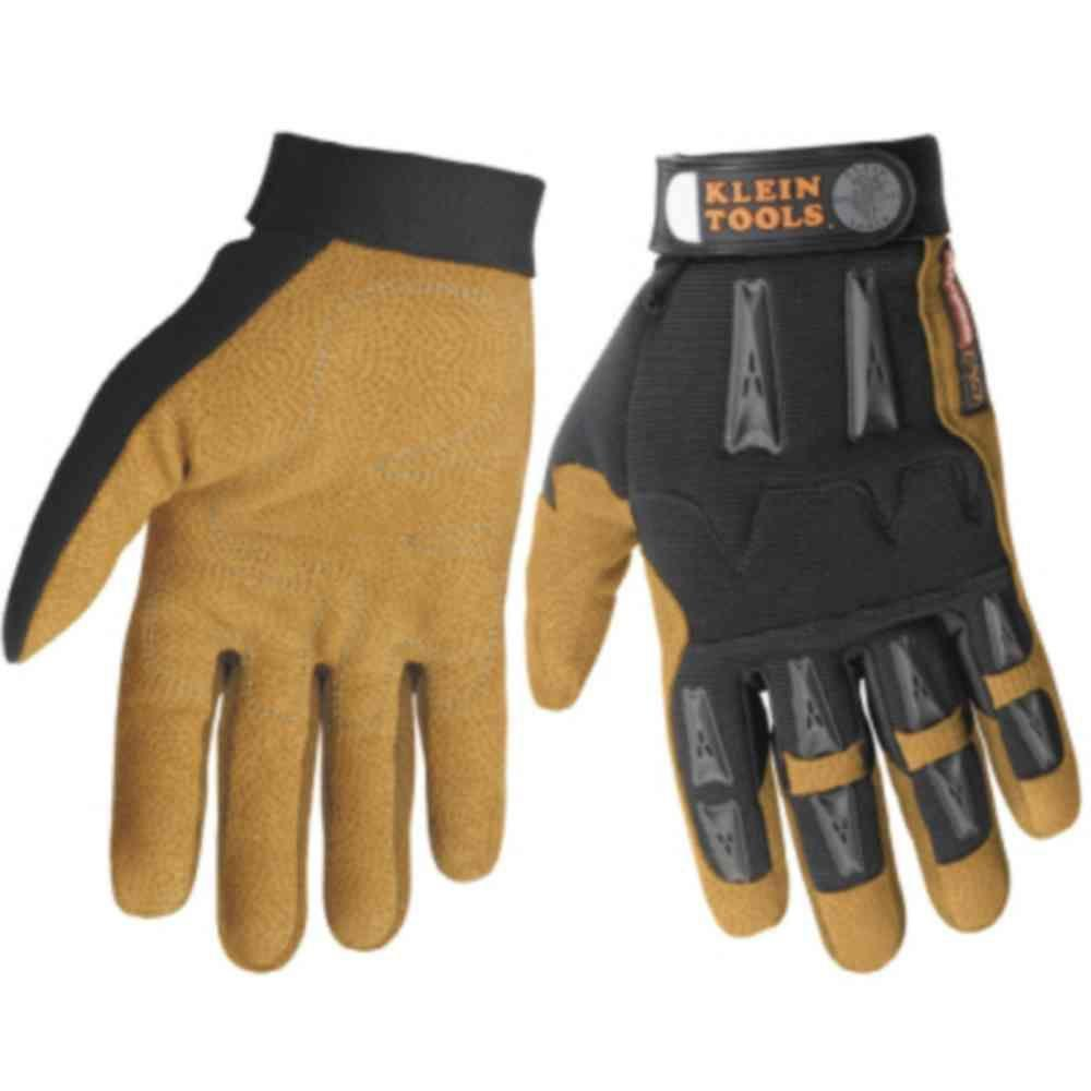 Klein Tools Journeyman Leather Extra Large Work Gloves-DISCONTINUED