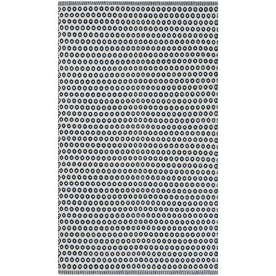 Montauk Blue/Ivory 3 ft. x 5 ft. Area Rug
