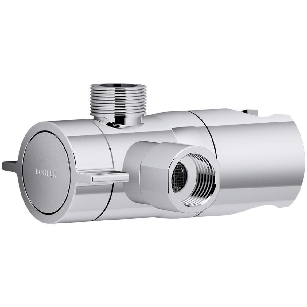 KOHLER Awaken Shower Arm Diverter in Polished Chrome