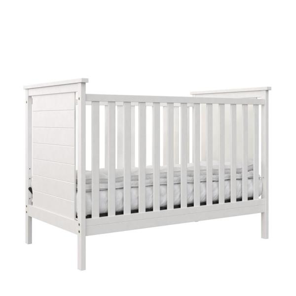 Eloise 3-in-1 White Convertible Crib