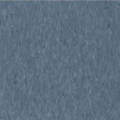 Take Home Sample - Imperial Texture VCT Grayed Blue Limestone Standard Excelon Vinyl Tile - 6 in. x 6 in.