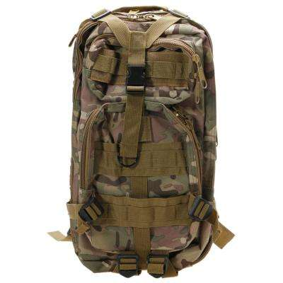 3P Marching 17 in. 30L CP Camouflage Backpack Outdoor War Game Shoulder Bag
