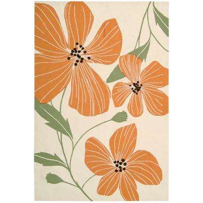 Fantasy Ivory 5 ft. x 7 ft. 6 in. Area Rug